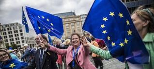 Pulse of Europe Frankfurt: Brücke in die Politik sein