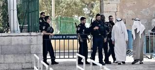 Israel lenkt ein – Muslime wollen dennoch protestieren