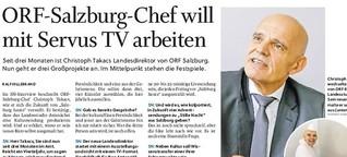 ORF-Salzburg-Chef will mit Servus TV arbeiten