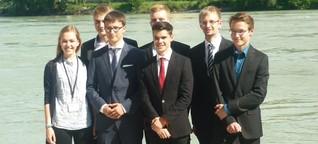 Europäisches Jugendparlament: Von Schwerin über Passau nach Dublin | svz.de