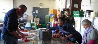 50 Kilo Reis als Beilage: Besuch in der Flüchtlingsküche