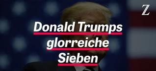 Trumps glorreichen Sieben