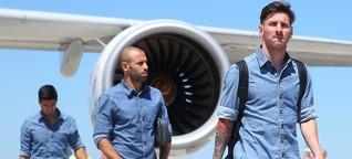 Champions-League-Groupie: Un Autogramm bitte, Señor Messi?