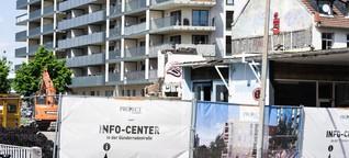 Frankfurter Arbeiterviertel: Die Schattenseiten des Baubooms