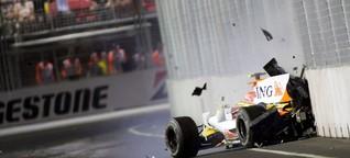"""""""Crashgate in Singapur"""": Renault schummelt sich per Unfall zum Sieg"""