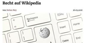 Rechts-Themen auf Wikipedia