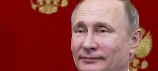 Zu Gast bei Putin: Weltpolitik in Moskau