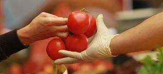 Tomaten: Wasserbomben