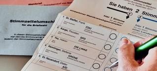 Karte zur Bundestagwahl: Wählen in Osnabrück vor dem 24.9.2017