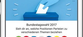 BUNDESTAGSWAHL 2017  Facebooks Infobox vergleicht Parteien für Bundestagswahl 2017