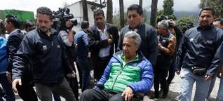 Präsidentschaftswahl in Ecuador: Die großen Diskurse sind vorbei