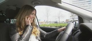 ZDF-Morgenmagazin: Gefahrenquelle Handy am Steuer