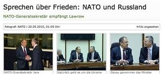 Sprechen über Frieden: NATO und Russland