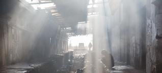 Diese unsäglichen Bedingungen müssen in Belgrad gestrandete Flüchtlinge aushalten