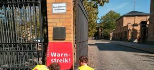 Streik - Zeit für das Testbild?