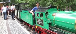 Dresden - Eisenbahnromantik im Miniformat
