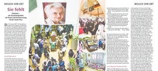 Sie fehlt. Pakistan - ein Staatsbegräbnis für Dr. Ruth Pfau