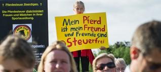 Pferdesteuer in Schleswig-Holstein: Tangstedt gegen Jamaika-Zügel