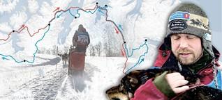 VR-Video: Schlittenhunderennen in Norwegen - Der härteste Wettkampf Europas