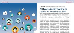 Mit Service Design Thinking die digitale Transformation gestalten