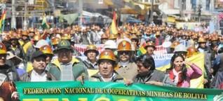 Neoliberale Kooperativen: Zum Konflikt zwischen Bergbau und Regierung in Bolivien