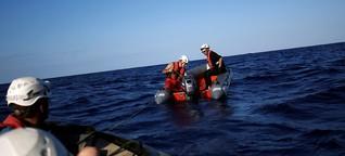 """Seawatch über Grenzschutz im Mittelmeer: """"Man zwingt die Leute auf die Boote"""""""