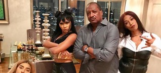 """Beyonce's dad Matthew Knowles releases photo of his new girl group tagged """"Destiny's aunties"""" due to their age"""