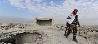 """Syrien: """"Es war ein Horrortrip"""""""
