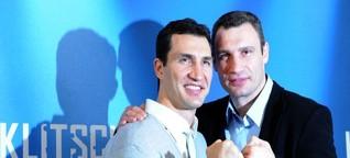 Die Klitschkos: Beim Boxen lernt man fürs Leben
