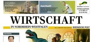 Die Wirtschaftszeitung der Rheinische Post