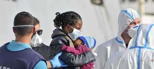 Moments from safety, migrants die trying to reach Europe