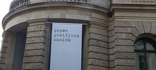 München: paper positions munich 2017 (Kunstmesse)