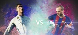 """FIFA 18"" vs ""PES 2018"" - Die große Detailschlacht"