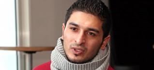 """Tanzen auf der Flucht gelernt: Syrer Omar Meslem tanzt in """"Biografia del corpo"""""""