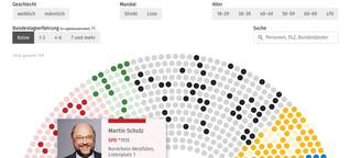 Bundestagswahl: Ein Ergebnis, viele Darstellungsmöglichkeiten