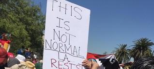 Proteste gegen Trump - Kalifornien will eine Vorreiterrolle übernehmen