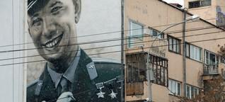 Streetart verwandelt Jekaterinburg