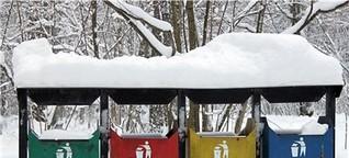 Mülltonnen auf der Elchinsel: Russland lernt Umweltschutz