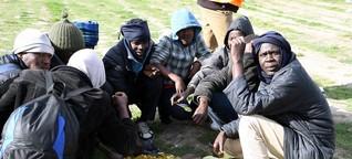 Flüchtlinge in Calais: Vorbereitungen für einen langen Winter