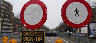 Brüssel: Politischer Stillstand sorgt für Stillstand auf den Straßen