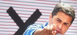 Honduras' Präsident steht vor Wiederwahl