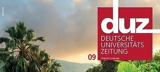 Hochschulen: Konkurrenz aus dem Ausland: (Titelstory duz)