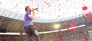 Konfetti und Politik bei Coldplay im Olympiastadion