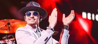 Bei Linkin Park in Berlin strahlt der Saal
