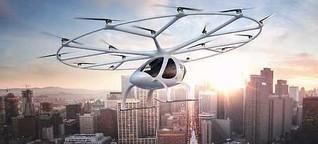 Die Drohne wird erwachsen