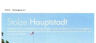 Washington: Stolze Hauptstadt