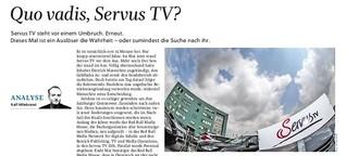 Quo vadis, Servus TV?