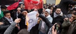 Antisemitismus: Vereint im Nichtstun gegen brennende Davidsterne