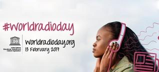 Studiogespräch zum World Radio Day auf FluxFM