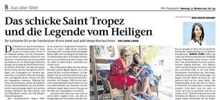 Das schicke Saint Tropez und die Legende vom Heiligen